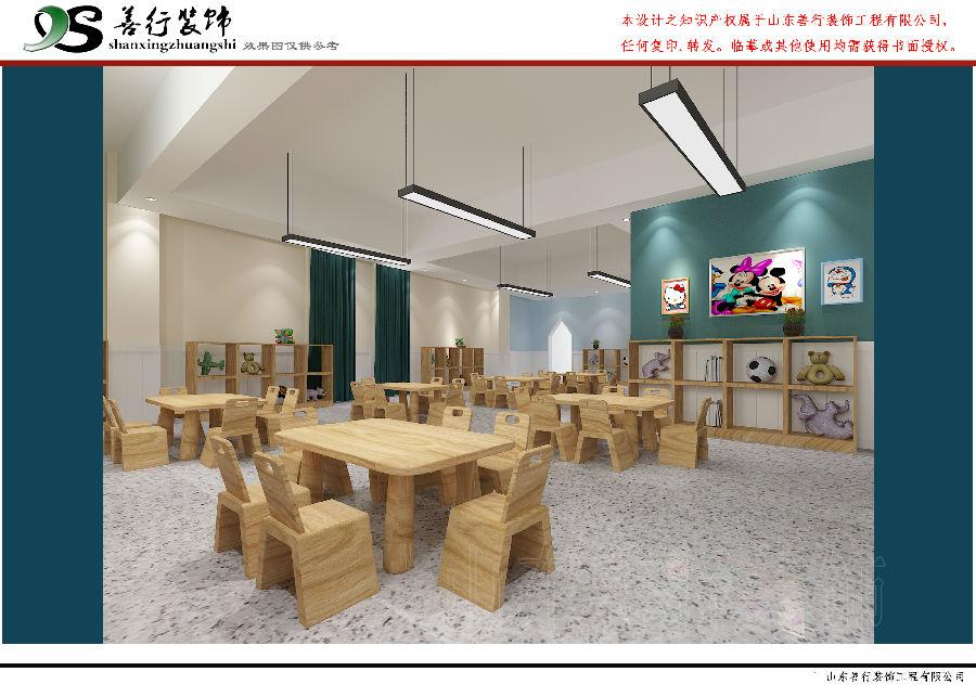 博苑幼儿园-济南幼儿园装修设计